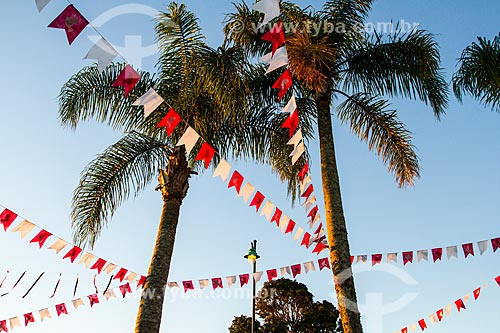 Assunto: Bandeiras para a Festa do Divino Espírito Santo / Local: Ribeirão da Ilha - Florianópolis - Santa Catarina (SC) - Brasil / Data: 06/2014