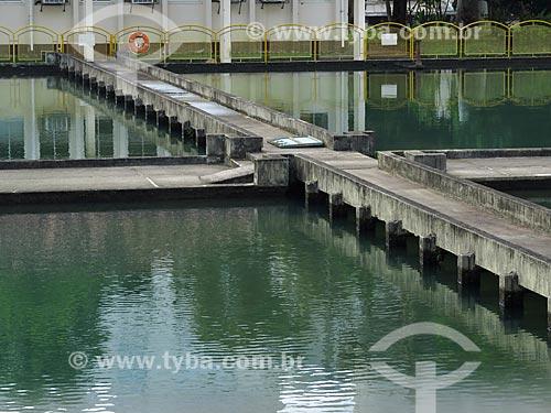 Assunto: Tanques da Estação de Tratamento de Água Moinhos de Vento (1928) - também conhecida como Hidráulica Moinhos de Vento / Local: Moinhos de Vento - Porto Alegre - Rio Grande do Sul (RS) - Brasil / Data: 05/2014