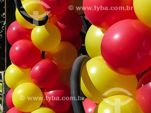 Assunto: Balões coloridos / Local: Porto Alegre - Rio Grande do Sul (RS) - Brasil / Data: 05/2014