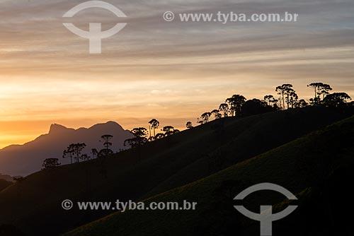 Assunto: Pedra Selada ao nascer do sol / Local: Visconde de Mauá - Resende - Rio de Janeiro (RJ) - Brasil / Data: 06/2014