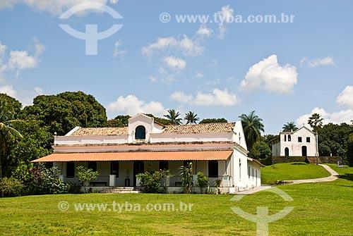 Assunto: Engenho Massangana (século XIX) - fazenda em que Joaquim Nabuco viveu durante a infância - com a Capela de São Mateus ao fundo / Local: Cabo de Santo Agostinho - Pernambuco (PE) - Brasil / Data: 09/2011