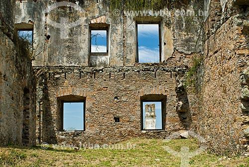Assunto: Ruínas do Convento de São Boaventura de Macacu (1670) / Local: Porto das Caixas - Itaboraí - Rio de Janeiro (RJ) - Brasil / Data: 09/2011