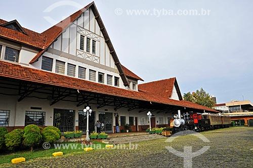 Assunto: Museu Histórico de Londrina Padre Carlos Weiss - Antiga estação ferroviária / Local: Londrina - Paraná (PR) - Brasil / Data: 04/2014