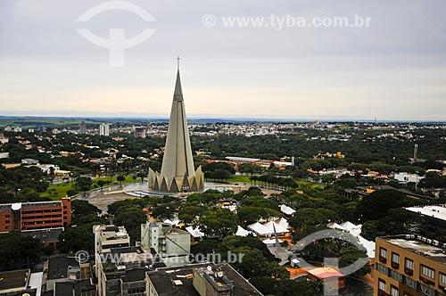 Assunto: Catedral Basílica Menor Nossa Senhora da Glória / Local: Maringá - Paraná (PR) - Brasil / Data: 05/2014