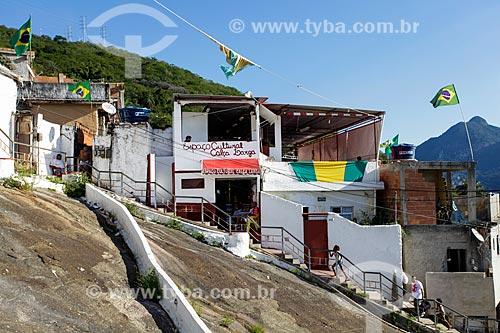 Assunto: Espaço Cultural Calça Larga - Morro do Salgueiro / Local: Tijuca - Rio de Janeiro (RJ) - Brasil / Data: 07/2014