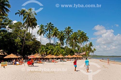 Assunto: Quiosques na Praia dos Carneiros / Local: Tamandaré - Pernambuco (PE) - Brasil / Data: 12/2013