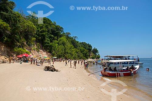 Assunto: Turistas na Praia de Guadalupe / Local: Sirinhaém - Pernambuco (PE) - Brasil / Data: 12/2013