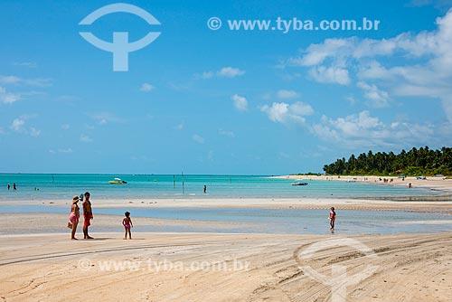 Assunto: Banhistas na Praia de Antunes / Local: Maragogi - Alagoas (AL) - Brasil / Data: 12/2013