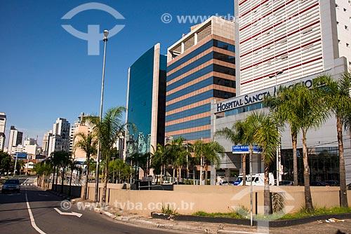 Assunto: Prédios comerciais na Avenida Santo Amaro - próximo à Avenida Juscelino Kubitschek / Local: Itaim Bibi - São Paulo (SP) - Brasil / Data: 03/2014