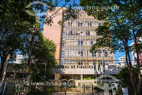 Assunto: Fachada do Fórum Regional de Pinheiros - Vila Madalena / Local: Pinheiros - São Paulo (SP) - Brasil / Data: 03/2014