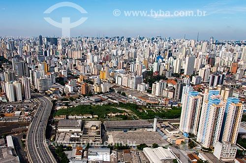 Assunto: Foto aérea do Viaduto Engenheiro Orlando Murgel com prédios ao fundo / Local: Campos Elíseos - São Paulo (SP) - Brasil / Data: 04/2014