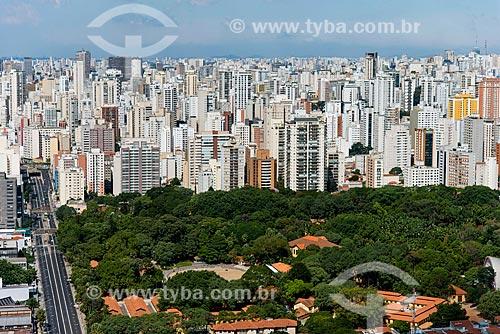 Assunto: Foto aérea da Avenida Francisco Matarazzo com o Parque Fernando Costa - também conhecido como Parque da Água Branca / Local: Barra Funda - São Paulo (SP) - Brasil / Data: 04/2014