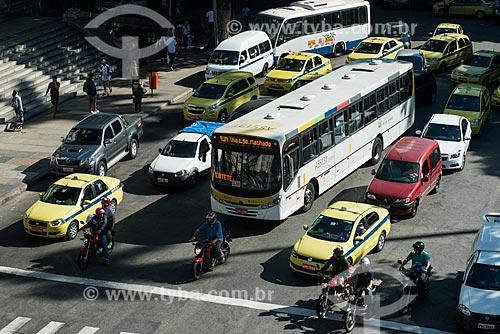 Assunto: Trânsito no Largo do Machado / Local: Catete - Rio de Janeiro (RJ) - Brasil / Data: 07/2014