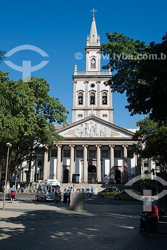 Assunto: Igreja Matriz de Nossa Senhora da Glória - Largo do Machado / Local: Catete - Rio de Janeiro (RJ) - Brasil / Data: 07/2014