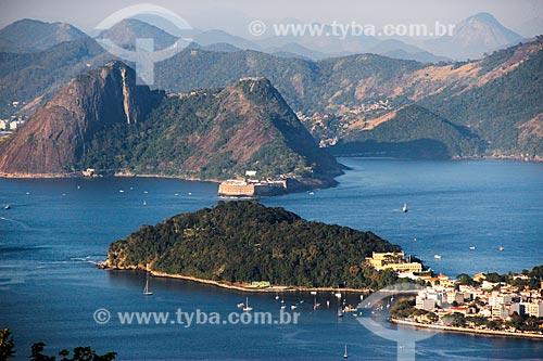 Assunto: Vista da Urca com Niterói ao fundo / Local: Urca - Rio de Janeiro (RJ) - Brasil / Data: 08/2014