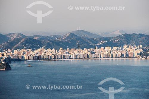 Assunto: Praia de Icaraí vista a partir da Baía de Guanabara / Local: Niterói - Rio de Janeiro (RJ) - Brasil / Data: 08/2014