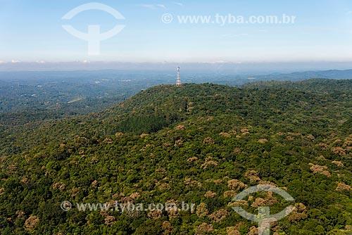 Torre de transmissão na região da Reserva Florestal do Morro Grande  - Cotia - São Paulo (SP) - Brasil