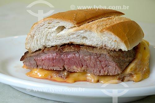 Sanduíche de carne  - Rio de Janeiro - Rio de Janeiro (RJ) - Brasil