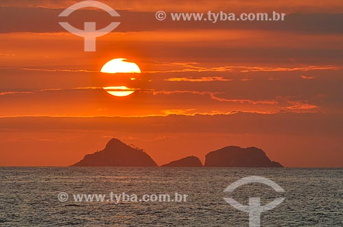 Ilhas no litoral do Rio de Janeiro  - Rio de Janeiro - Rio de Janeiro (RJ) - Brasil