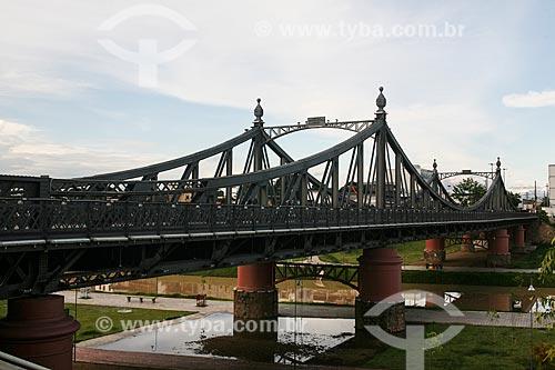 Ponte Benjamin Constant (1895) - também conhecida como ponte metálica  - Manaus - Amazonas (AM) - Brasil