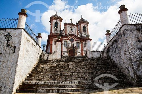 Igreja Matriz de Nossa Senhora da Conceição  - Ouro Preto - Minas Gerais (MG) - Brasil