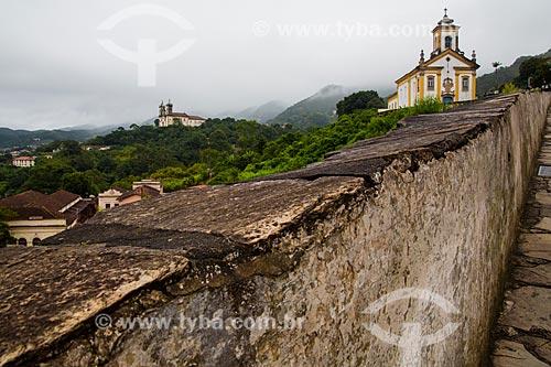 Igreja de Nossa Senhora das Mercês de Cima  - Ouro Preto - Minas Gerais (MG) - Brasil