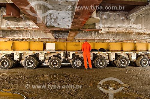 UTC Engenharia  - Construção de módulo de serviço para funcionamento em plataforma de petróleo da PETROBRAS  - Niterói - Rio de Janeiro (RJ) - Brasil