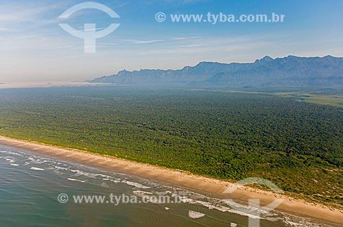 Praia do Una - Estação Ecológica Juréia-Itatins  - Peruíbe - São Paulo (SP) - Brasil