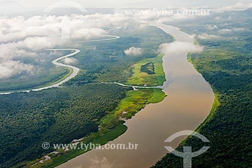 Rio Ribeira de Iguape próximo da foz  - Iguape - São Paulo (SP) - Brasil