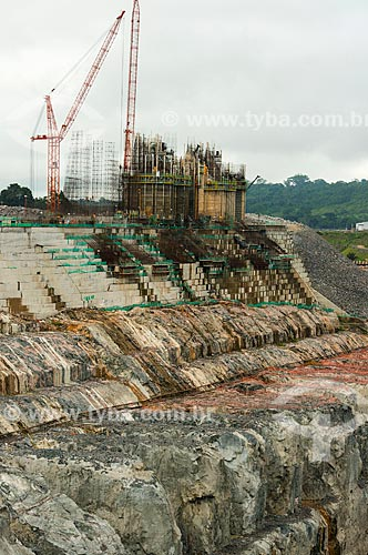 Construção da Usina Hidrelétrica de Belo Monte   - Altamira - Pará (PA) - Brasil