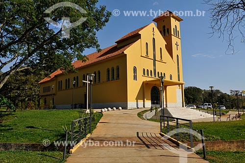 Igreja Nossa Senhora das Graças - Igreja do Barreiro - Complexo termal do Barreiro  - Araxá - Minas Gerais (MG) - Brasil