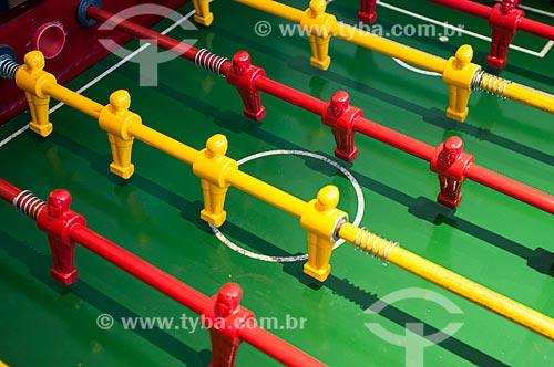 Futebol de mesa (Totó)  - Gramado - Rio Grande do Sul (RS) - Brasil