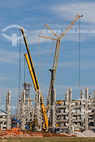 Construção do Complexo Petroquímico do Rio de Janeiro (COMPERJ)  - Itaboraí - Rio de Janeiro (RJ) - Brasil