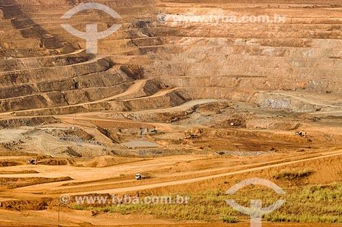Mina de Fosfato - Complexo de Mineração de Tapira (CMT)  - Tapira - Minas Gerais (MG) - Brasil