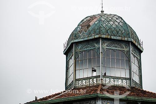 Detalhe da torre metálica do Restaurante Albamar  - Rio de Janeiro - Rio de Janeiro (RJ) - Brasil