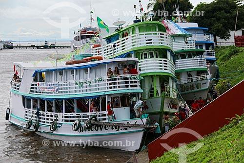 Porto de Parintins  - Parintins - Amazonas (AM) - Brasil