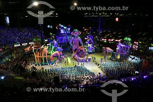 Festival de Folclore de Parintins - Boi Caprichoso  - Parintins - Amazonas (AM) - Brasil