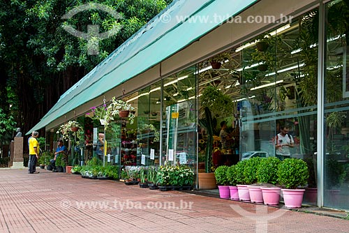 Floriculturas do Largo do Arouche  - São Paulo - São Paulo (SP) - Brasil