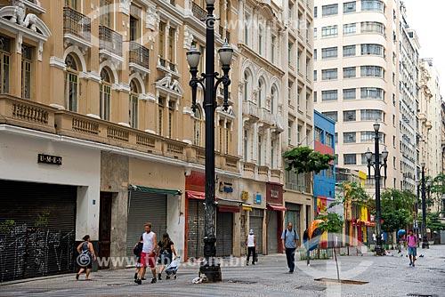 Calçadão da Rua Barão de Itapetininga  - São Paulo - São Paulo (SP) - Brasil