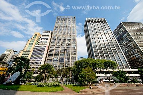 Edificíos comerciais no Vale do Anhangabaú  - São Paulo - São Paulo (SP) - Brasil