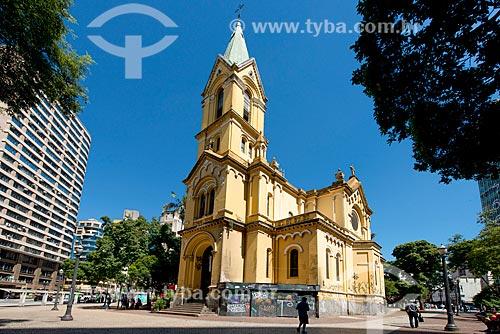 Igreja de Nossa Senhora do Rosário dos Homens Pretos no Largo do Paissandú  - São Paulo - São Paulo (SP) - Brasil