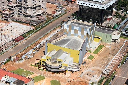 Foto aérea do Teatro Estadual Palácio das Artes Rondônia (2014)  - Porto Velho - Rondônia (RO) - Brasil