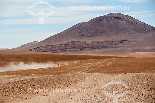 Vista geral do Deserto Siloli  - Departamento Potosí - Bolívia