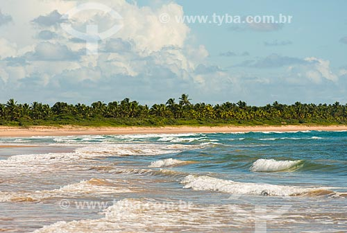 Orla da Praia de Algodões  - Maraú - Bahia (BA) - Brasil