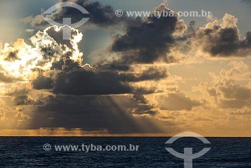 Nascer do sol na Praia de Algodões  - Maraú - Bahia (BA) - Brasil