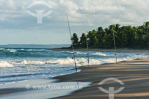 Orla da Praia de Arandi  - Maraú - Bahia (BA) - Brasil