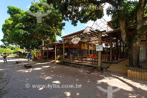 Comércio na Praia de Barra Grande  - Maraú - Bahia (BA) - Brasil