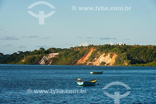 Barcos no Rio Maraú   - Maraú - Bahia (BA) - Brasil
