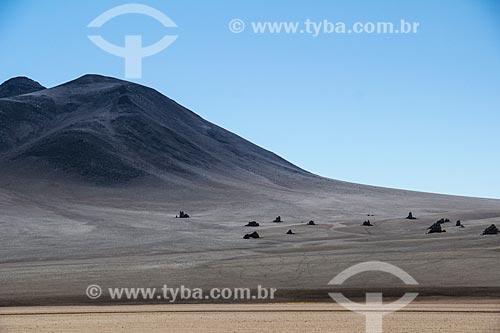 Deserto na Reserva Nacional de Fauna Andina Eduardo Avaroa  - Departamento Potosí - Bolívia
