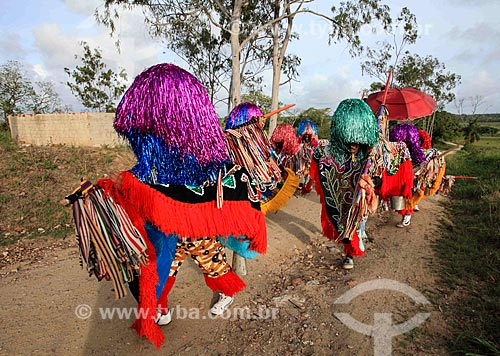 Caboclos de lança do Maracatu Rural - também conhecido como Maracatu de Baque Solto  - Nazaré da Mata - Pernambuco (PE) - Brasil